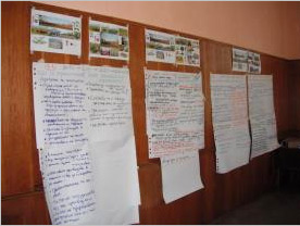 Results of the three working groups defining the pathways to reach each of the visions for regional sustainability of agriculture in Besaparski Hills Natura 2000 zone; Y.Kazakova